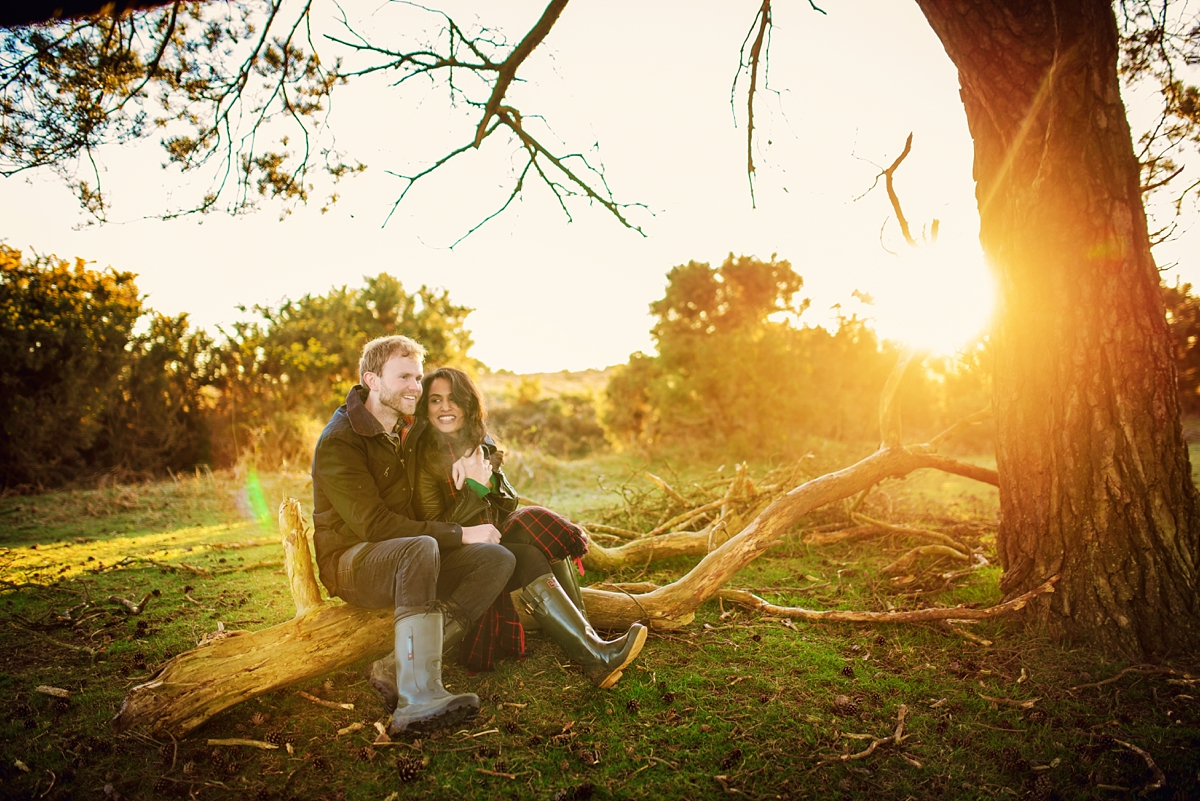 New Forest Wedding Photography - Sunrise Engagement Session - Photography by Vicki-5