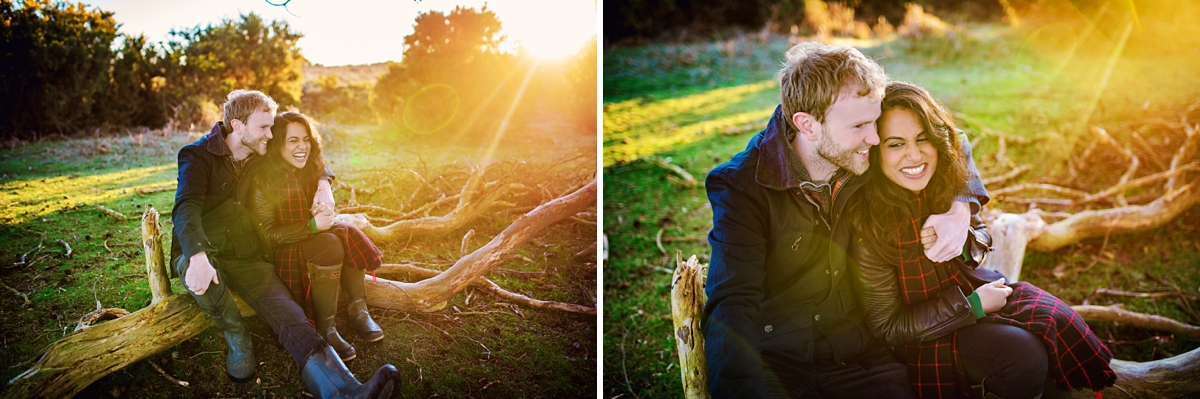 New Forest Wedding Photography - Sunrise Engagement Session - Photography by Vicki-6