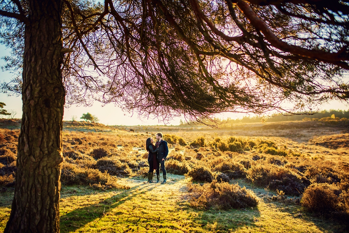 New Forest Wedding Photography - Sunrise Engagement Session - Photography by Vicki-8