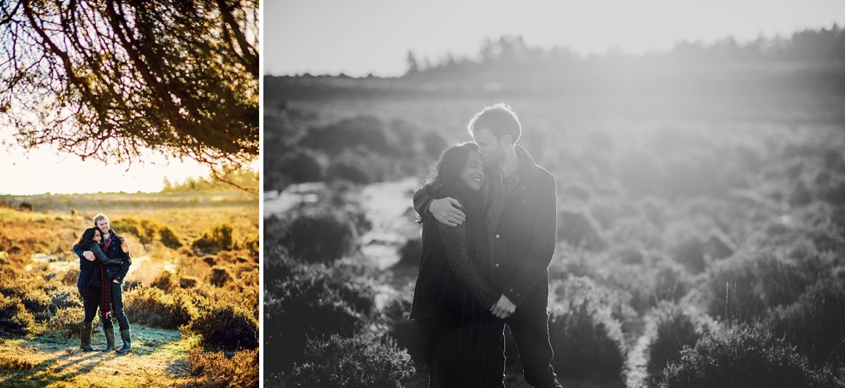 New Forest Wedding Photographer - Sunrise Engagement Session - Photography by Vicki-9