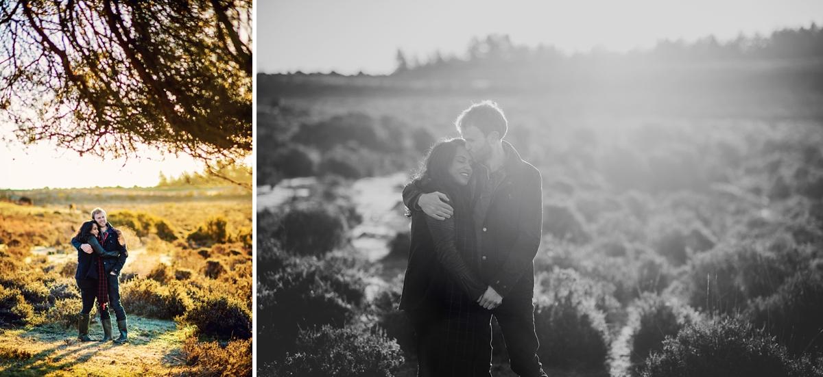 New Forest Wedding Photographer - Sunrise Engagement Session - Photography by Vicki-9