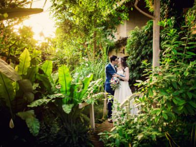 David + Antonia | Barbican Conservatory Wedding Photographer