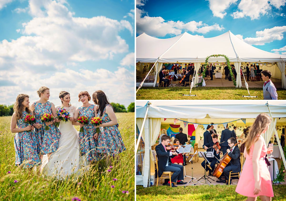 Oxfordshire Farm Wedding Photography by Vicki
