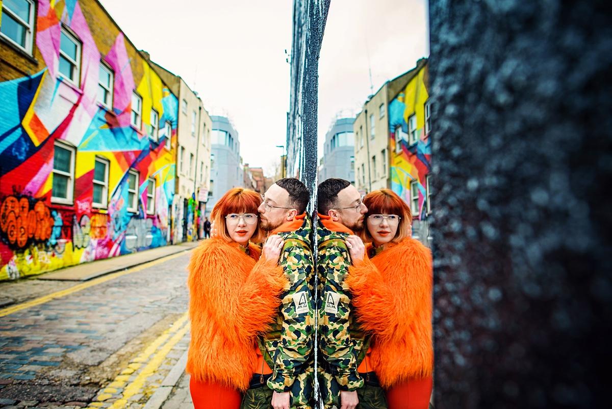 Soho Wedding Photographer - Pip & Dan Love Session in London