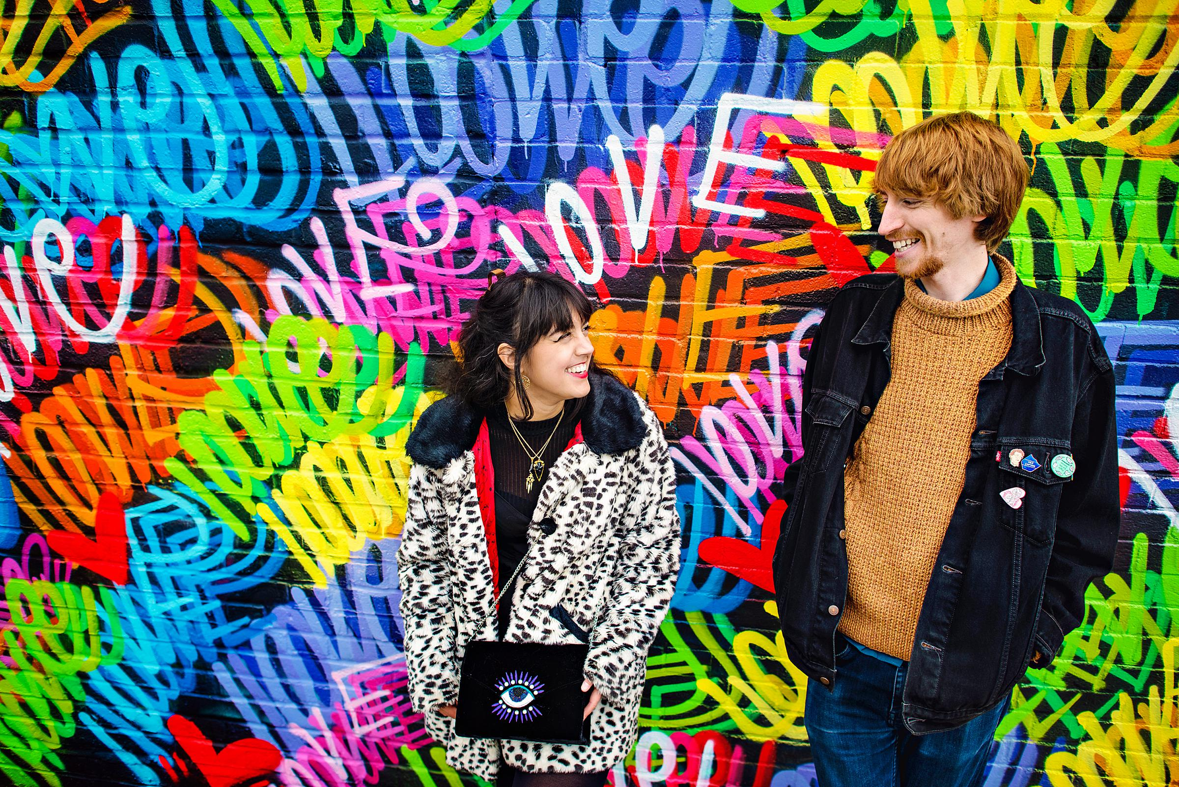 Shoreditch Engagement Session - Brick Lane - Photography by Vicki