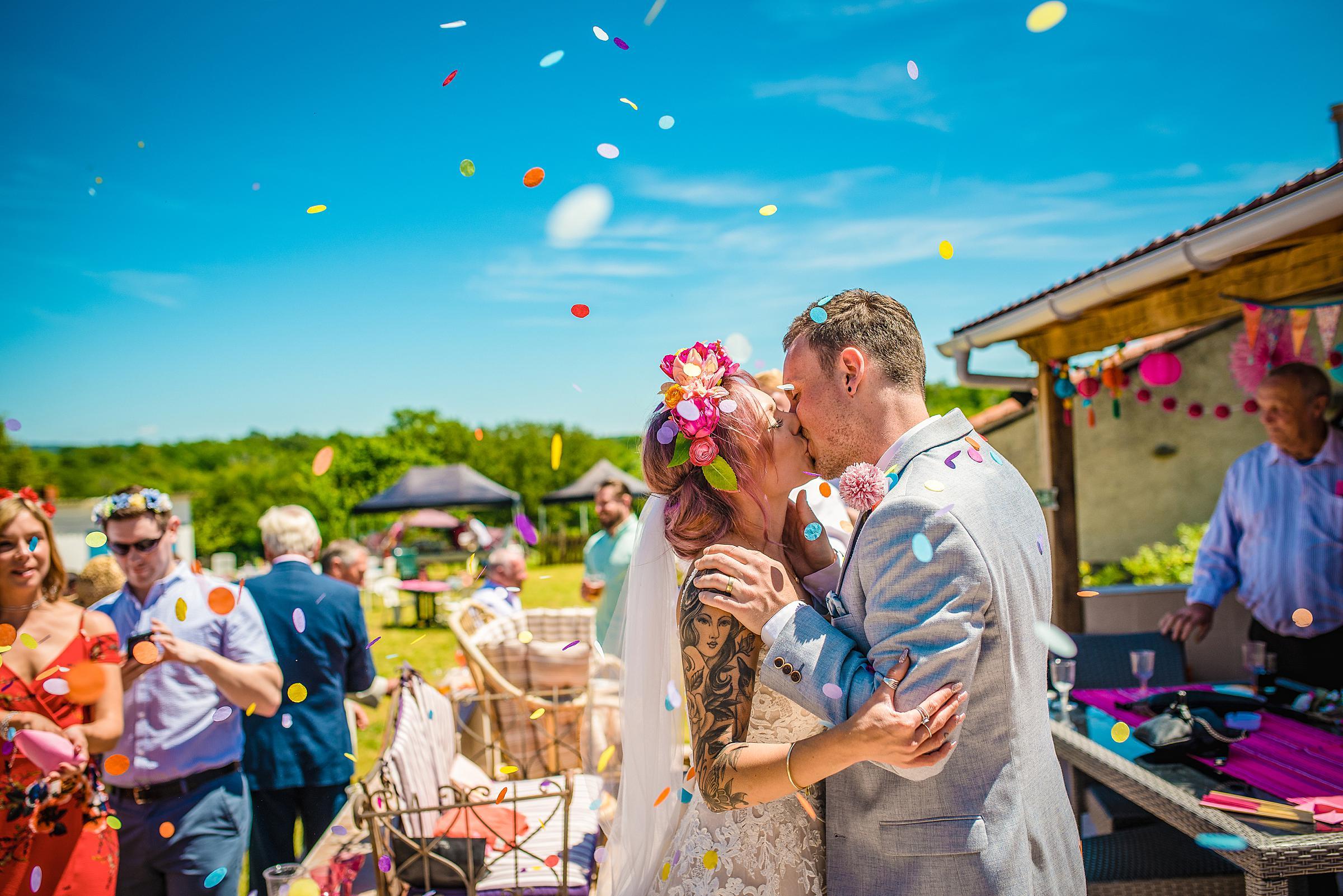 Back Garden Festival Wedding in France - Music Festival