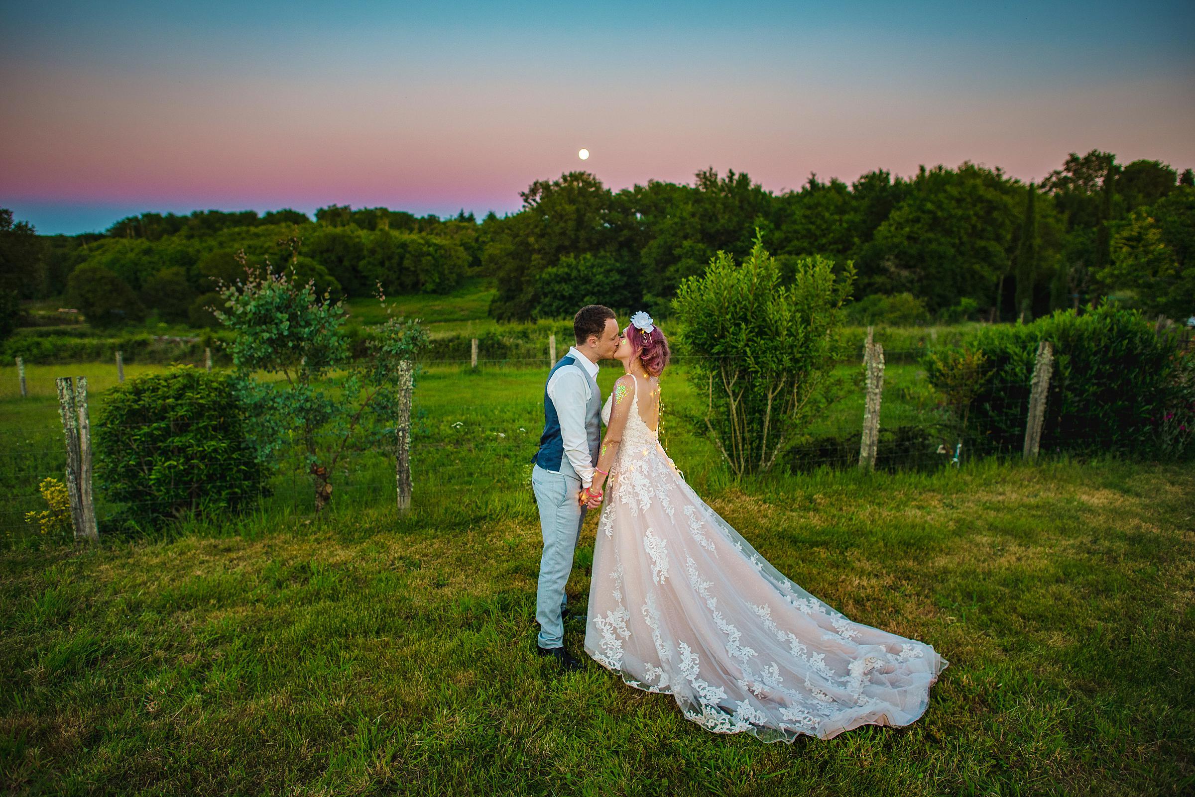 Back Garden Festival Wedding in France - Destination Wedding Photographer